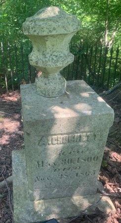 "CROCKETT, ARCHIBALD ""ARCHIE"" - Obion County, Tennessee | ARCHIBALD ""ARCHIE"" CROCKETT - Tennessee Gravestone Photos"