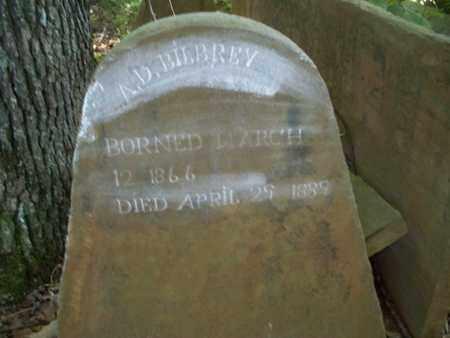 BILBREY, A. D. - Overton County, Tennessee | A. D. BILBREY - Tennessee Gravestone Photos