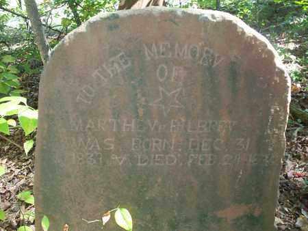 BILBREY, MARTHA H. - Overton County, Tennessee | MARTHA H. BILBREY - Tennessee Gravestone Photos