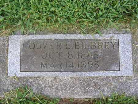 BILBREY, OLIVER L. - Overton County, Tennessee | OLIVER L. BILBREY - Tennessee Gravestone Photos