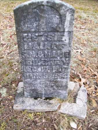 BILBREY, RETSIE - Overton County, Tennessee | RETSIE BILBREY - Tennessee Gravestone Photos