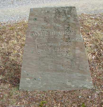 BILBREY, WILLIAM T. - Overton County, Tennessee | WILLIAM T. BILBREY - Tennessee Gravestone Photos
