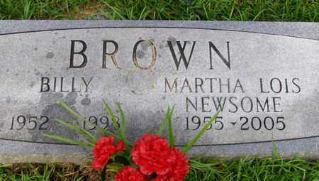 BROWN, MARTHA LOIS - Overton County, Tennessee | MARTHA LOIS BROWN - Tennessee Gravestone Photos