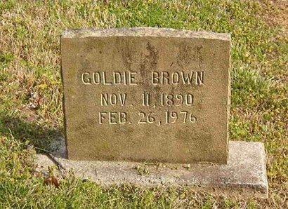BROWN, GOLDIE - Overton County, Tennessee | GOLDIE BROWN - Tennessee Gravestone Photos