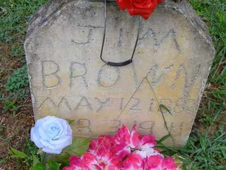 BROWN, JIM - Overton County, Tennessee | JIM BROWN - Tennessee Gravestone Photos