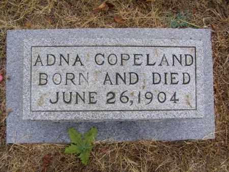 COPELAND, ADNA - Overton County, Tennessee | ADNA COPELAND - Tennessee Gravestone Photos
