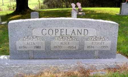 COPELAND, ALICE - Overton County, Tennessee   ALICE COPELAND - Tennessee Gravestone Photos