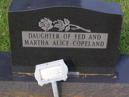 COPELAND, DAUGHTER - Overton County, Tennessee | DAUGHTER COPELAND - Tennessee Gravestone Photos