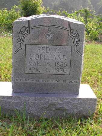 COPELAND, FED C. - Overton County, Tennessee | FED C. COPELAND - Tennessee Gravestone Photos