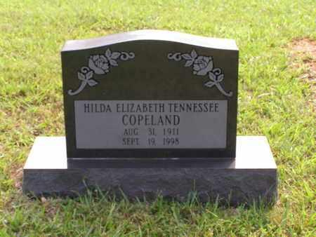 COPELAND, HILDA ELIZABETH TENNESSEE - Overton County, Tennessee   HILDA ELIZABETH TENNESSEE COPELAND - Tennessee Gravestone Photos
