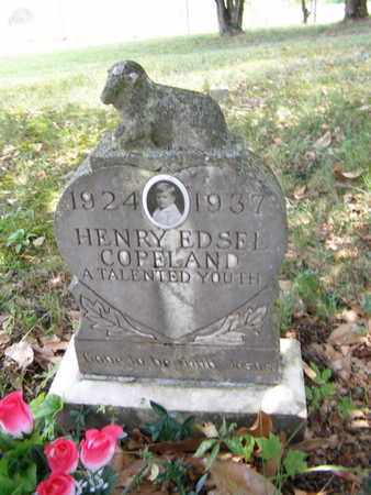 COPELAND, HENRY EDSEL - Overton County, Tennessee | HENRY EDSEL COPELAND - Tennessee Gravestone Photos