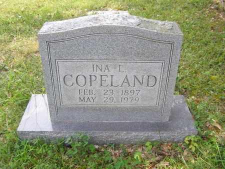 COPELAND, INA L. - Overton County, Tennessee | INA L. COPELAND - Tennessee Gravestone Photos