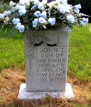 COPELAND, JOHN L. - Overton County, Tennessee | JOHN L. COPELAND - Tennessee Gravestone Photos