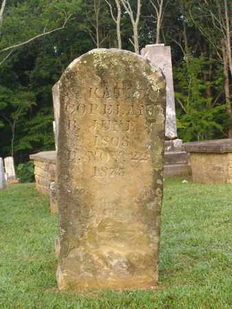 COPELAND, KATEY - Overton County, Tennessee | KATEY COPELAND - Tennessee Gravestone Photos