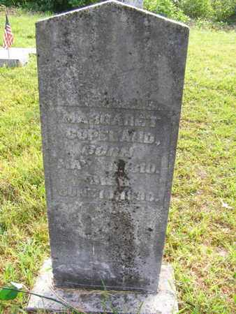 COPELAND, MARGARET - Overton County, Tennessee | MARGARET COPELAND - Tennessee Gravestone Photos