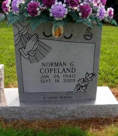 COPELAND, NORMAN G. - Overton County, Tennessee | NORMAN G. COPELAND - Tennessee Gravestone Photos