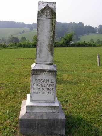 COPELAND, SUSAN E. - Overton County, Tennessee | SUSAN E. COPELAND - Tennessee Gravestone Photos