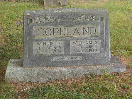 COPELAND, WINNIE D. - Overton County, Tennessee | WINNIE D. COPELAND - Tennessee Gravestone Photos