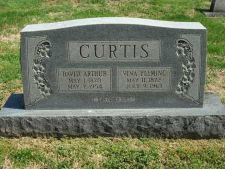 CURTIS, DAVID ARTHUR - Overton County, Tennessee | DAVID ARTHUR CURTIS - Tennessee Gravestone Photos