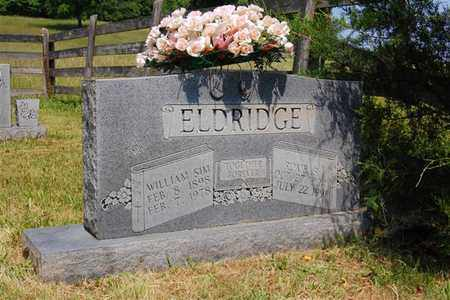 "ELDRIDGE, WILLIAM ""SIM"" - Overton County, Tennessee | WILLIAM ""SIM"" ELDRIDGE - Tennessee Gravestone Photos"