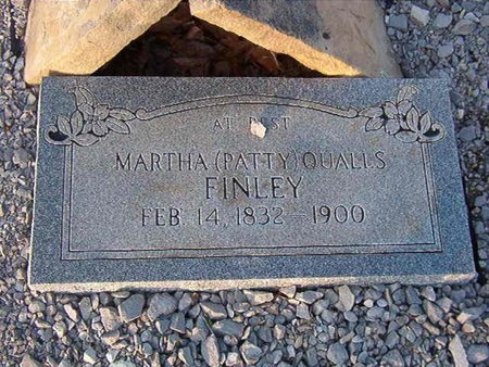 "QUALLS FINLEY, MARTHA ""PATTY"" - Overton County, Tennessee 