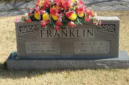 NOLEN FRANKLIN, EMILY - Overton County, Tennessee | EMILY NOLEN FRANKLIN - Tennessee Gravestone Photos