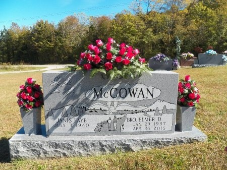 MCCOWAN, ELMER DANIEL - Overton County, Tennessee | ELMER DANIEL MCCOWAN - Tennessee Gravestone Photos