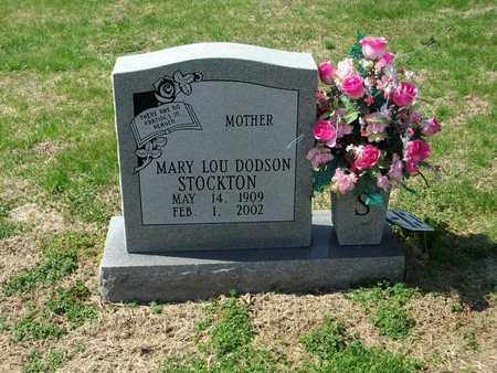 DODSON STOCKTON, MARY LOU - Overton County, Tennessee | MARY LOU DODSON STOCKTON - Tennessee Gravestone Photos