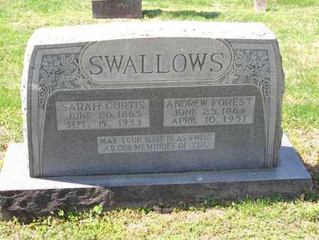 SWALLOWS, SARAH - Overton County, Tennessee | SARAH SWALLOWS - Tennessee Gravestone Photos