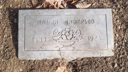 PHILLIPS THOMPSON, MARTHA - Overton County, Tennessee | MARTHA PHILLIPS THOMPSON - Tennessee Gravestone Photos
