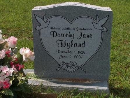 HYLAND, DOROTHY JANE - Perry County, Tennessee   DOROTHY JANE HYLAND - Tennessee Gravestone Photos