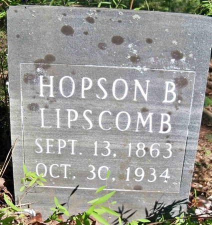 LIPSCOMB, HOPSON B. - Perry County, Tennessee   HOPSON B. LIPSCOMB - Tennessee Gravestone Photos