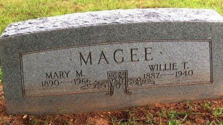 MAGEE, MARY M. - Perry County, Tennessee | MARY M. MAGEE - Tennessee Gravestone Photos