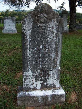 MAYBERRY, FANNIE - Perry County, Tennessee | FANNIE MAYBERRY - Tennessee Gravestone Photos