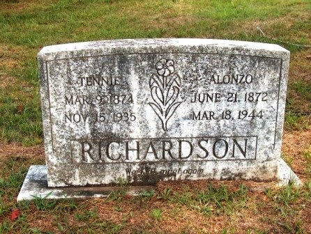 RICHARDSON, ALONZO - Perry County, Tennessee   ALONZO RICHARDSON - Tennessee Gravestone Photos