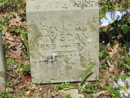 ROYSDAN, JACOB A.. REV. - Pickett County, Tennessee | JACOB A.. REV. ROYSDAN - Tennessee Gravestone Photos
