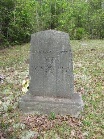 SLAVEN, W. ARVALLE - Pickett County, Tennessee | W. ARVALLE SLAVEN - Tennessee Gravestone Photos