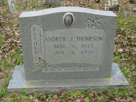 THOMPSON, ANDREW JOHNSON - Pickett County, Tennessee | ANDREW JOHNSON THOMPSON - Tennessee Gravestone Photos