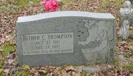 THOMPSON, LUTHER C. - Pickett County, Tennessee | LUTHER C. THOMPSON - Tennessee Gravestone Photos