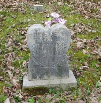 THOMPSON, OLLIE BELL - Pickett County, Tennessee | OLLIE BELL THOMPSON - Tennessee Gravestone Photos