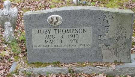 THOMPSON, RUBY - Pickett County, Tennessee | RUBY THOMPSON - Tennessee Gravestone Photos