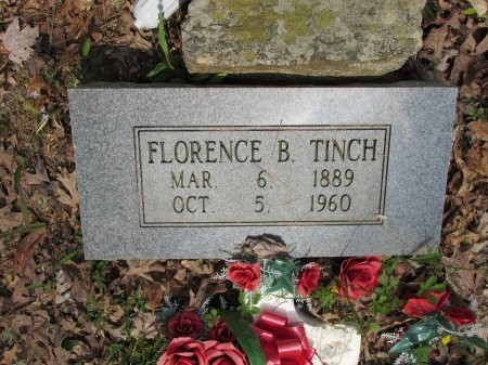 TINCH, FLORENCE B. - Pickett County, Tennessee | FLORENCE B. TINCH - Tennessee Gravestone Photos