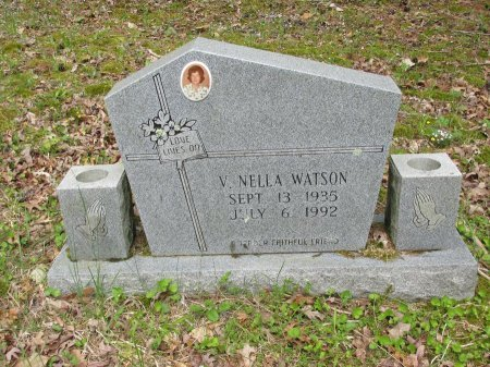 WATSON, V. NELLA - Pickett County, Tennessee | V. NELLA WATSON - Tennessee Gravestone Photos
