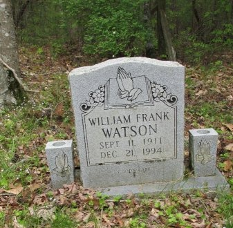 WATSON, WILLIAM FRANK - Pickett County, Tennessee | WILLIAM FRANK WATSON - Tennessee Gravestone Photos