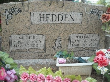 HEDDEN, WILLIAM L. - Polk County, Tennessee   WILLIAM L. HEDDEN - Tennessee Gravestone Photos