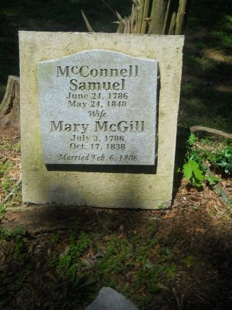 MCGILL MCCONNELL, MARY - Polk County, Tennessee | MARY MCGILL MCCONNELL - Tennessee Gravestone Photos