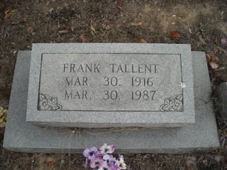 TALLENT, FRANK - Polk County, Tennessee | FRANK TALLENT - Tennessee Gravestone Photos