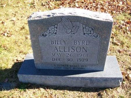 ALLISON, BILLY BYRD - Putnam County, Tennessee   BILLY BYRD ALLISON - Tennessee Gravestone Photos