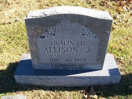 ALLISON, JR., OVALIN D. - Putnam County, Tennessee   OVALIN D. ALLISON, JR. - Tennessee Gravestone Photos