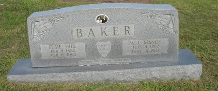 "BAKER, WILLIAM J. ""MANCE"" - Putnam County, Tennessee 